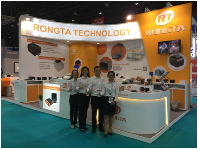 The technology flower of RONGTA blooming in the GITEX 2016