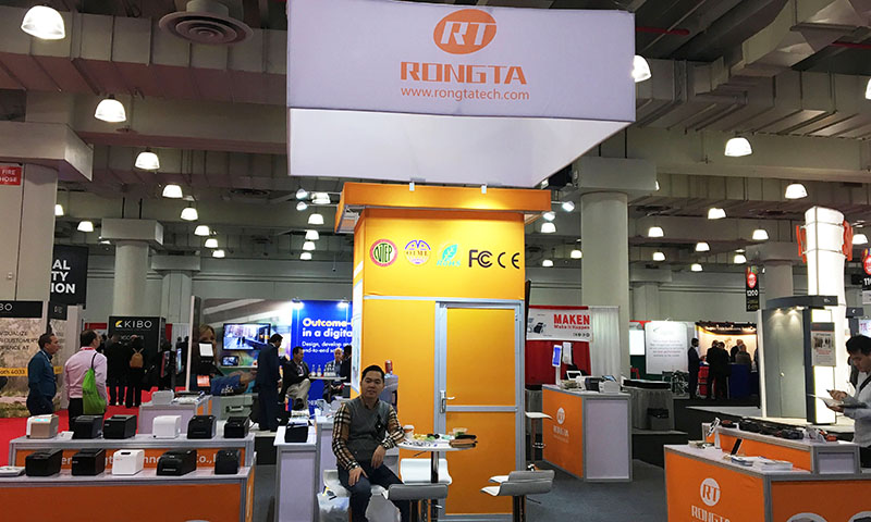 RONGTA New Products Sparkling at 2017 NRF Show