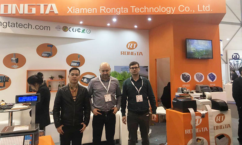 Rongta Tech on 2017 EuroShop Fair/Dusseldorf Germany