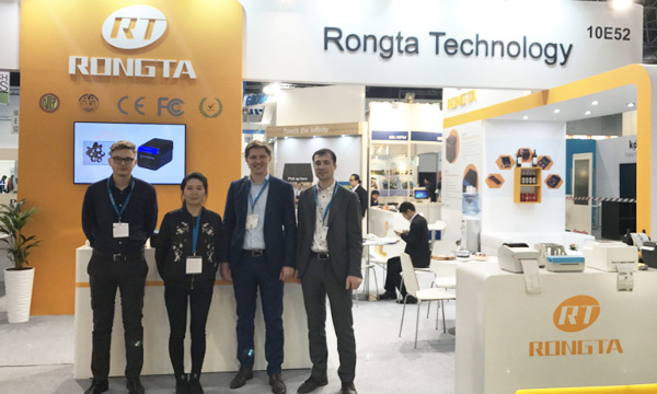 Rongta Technology in EUROCIS 2018