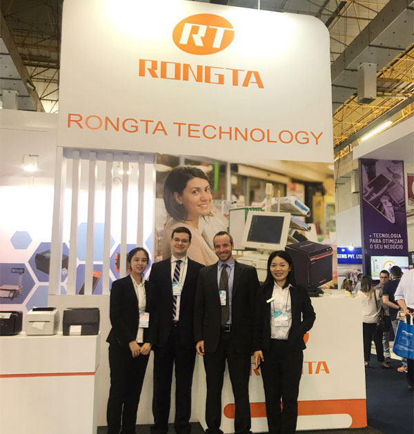 2018 Brazil Commercial Automation Exhibition--Rongta in Brazil