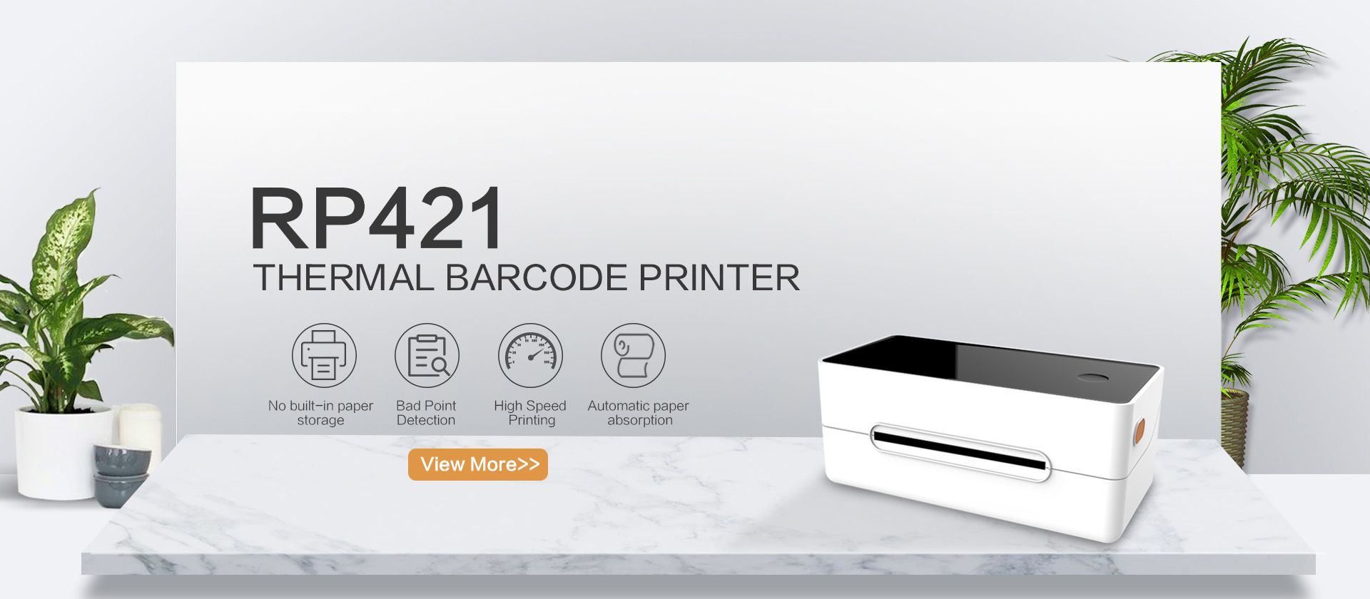 RP421 Label Barcode Printer